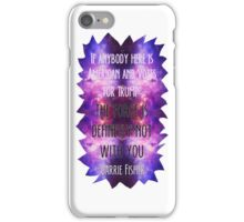 the force is not with trump iPhone Case/Skin