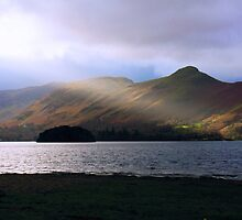 Sunlight over Derwentwater by Tom Gomez