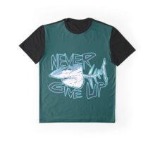 great white never give up Graphic T-Shirt