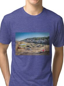 Mousehole, Cornwall Tri-blend T-Shirt