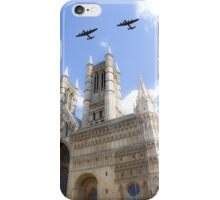 Bombers over the Cathedral iPhone Case/Skin
