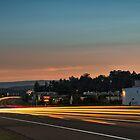 Street Scene at Sunrise by LarryB007
