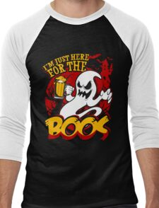 I'm Just Here For The Boos Men's Baseball ¾ T-Shirt
