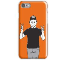 Halloween Mike Myers Mashup  iPhone Case/Skin