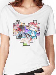 Undertale Heart Women's Relaxed Fit T-Shirt