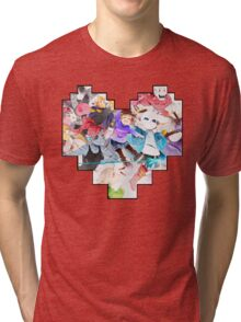 Undertale Heart Tri-blend T-Shirt