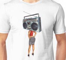 Radio Girl Unisex T-Shirt