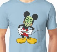 Anon Mouse loves weed Unisex T-Shirt