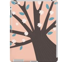 Spring tree with blossom flowers iPad Case/Skin