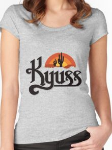 Kyuss Band Women's Fitted Scoop T-Shirt
