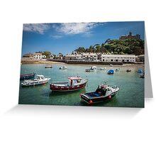 St Michaels Mount, Cornwall, UK Greeting Card
