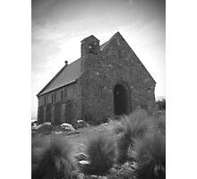 Church of the Good Shepherd, Lake Tekapo, NZ Photographic Print