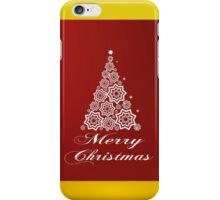 Christmas card design iPhone Case/Skin