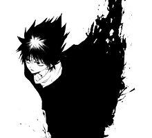 Yu Yu Hakusho - Hiei by kerakas