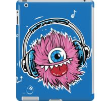 Pink Monster Music iPad Case/Skin