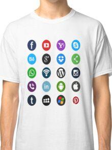 Social Media Classic T-Shirt