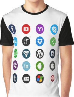 Social Media Graphic T-Shirt