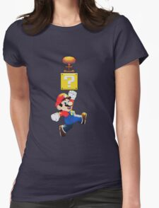 SUPER MARIO GOT NUCLEAR BOMB! Womens Fitted T-Shirt