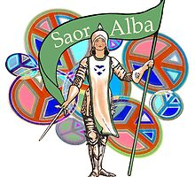 Scottish Independence Feminist Saor Alba by simpsonvisuals