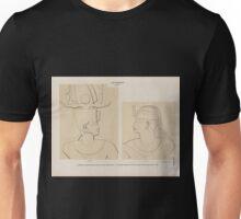 0053 Aethiopen Dynastie XXV a Theben Thebes Karnak Kammer am See Westseite b Barkal Jebel Barkal Grosser Felsentempel Westwand der Cella Unisex T-Shirt