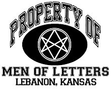 Property Of Men Of Letters, Supernatural Photographic Print