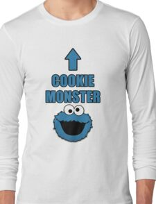 Cookie Monster Funny Shirt Long Sleeve T-Shirt