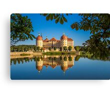 Germany. Moritzburg. Moritzburg Castle. Canvas Print