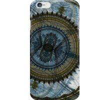 Blue machine iPhone Case/Skin