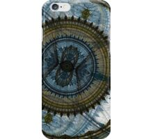 Blue machine iPhone Case/Skin