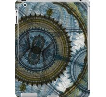 Blue machine iPad Case/Skin