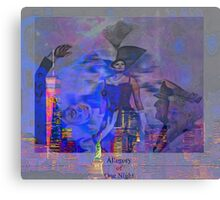 Allegory  009 25 09 Canvas Print