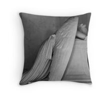 An Angel Wept Throw Pillow