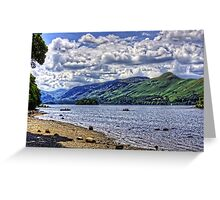 Rowboats on Derwentwater Greeting Card