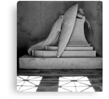 An Angel Wept Canvas Print