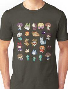 Studio Ghibli - Cartoon Duvets- Anime T-Shirts Unisex T-Shirt