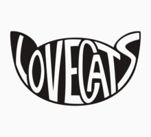 Lovecats - Black Kids Tee