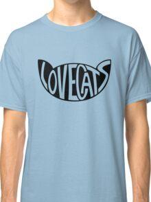Lovecats - Black Classic T-Shirt