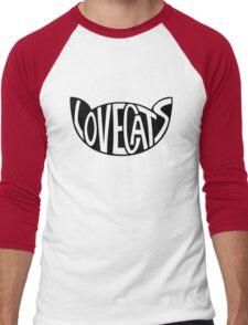 Lovecats - Black Men's Baseball ¾ T-Shirt