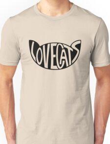 Lovecats - Black Unisex T-Shirt