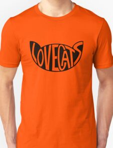 Lovecats - Black T-Shirt