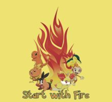 Start with fire Kids Clothes