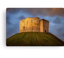 Cliffords Tower Canvas Print
