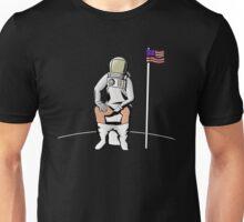 Meditation on the Moon Unisex T-Shirt