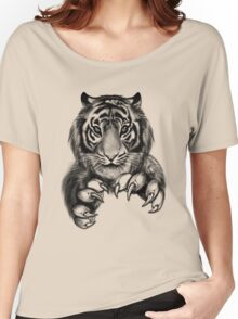 Tiger. Women's Relaxed Fit T-Shirt