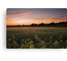 Ivinghoe Sunset Canvas Print