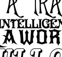 Anti Social Behavior, Nikola Tesla Quote Sticker