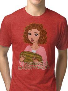 I Carried a Watermelon Tri-blend T-Shirt