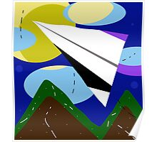 Paper airplane   Poster