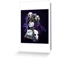 Skull Queen Greeting Card