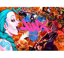 Jinx / League of Legends Photographic Print